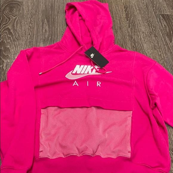 Pink Nike Air Hoodie